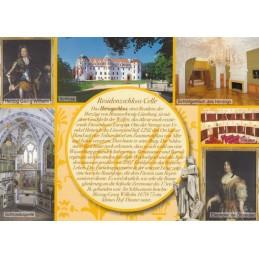 Residenzschloss Celle - gelbe Chronikkarte