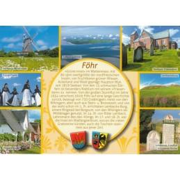 Föhr - gelbe Chronikkarte