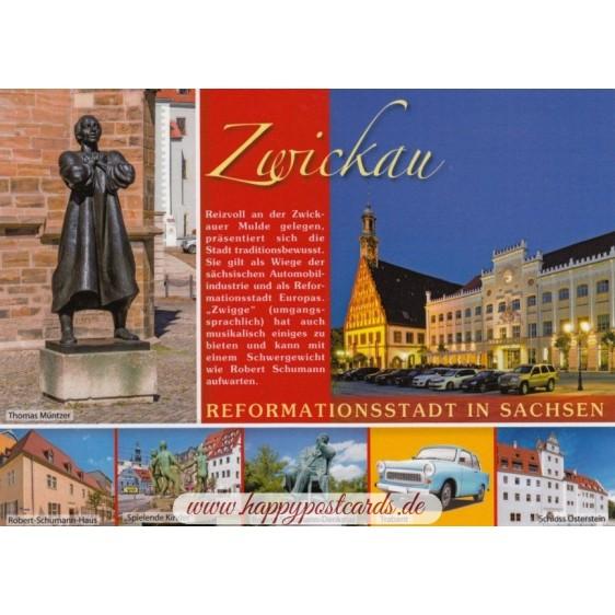 Zwickau - Chronikkarte