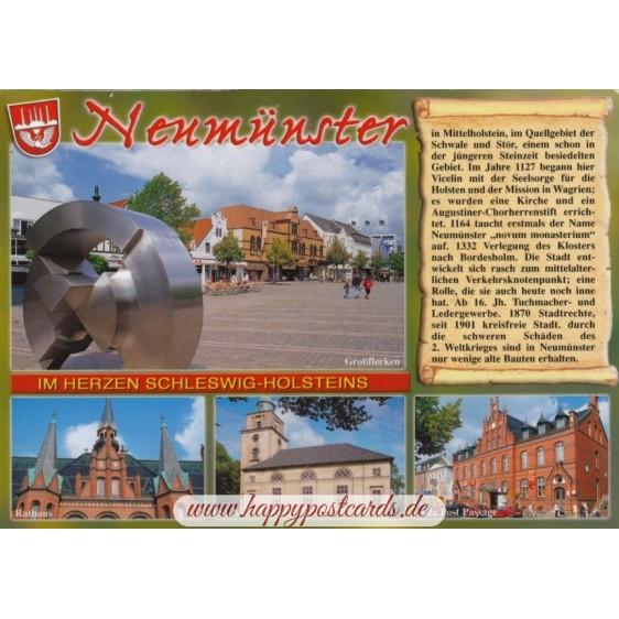 Neumünster - Chronik - Ansichtskarte
