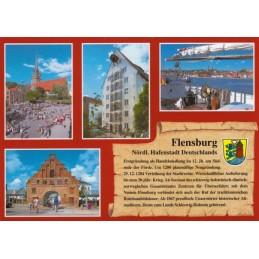 Flensburg - Chronikkarte