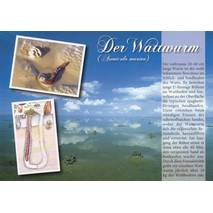 Der Wattwurm - Chronicle - Viewcard