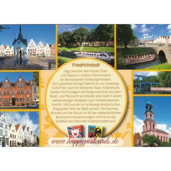 Friedrichstadt - Yellow Chronicle - Viewcard