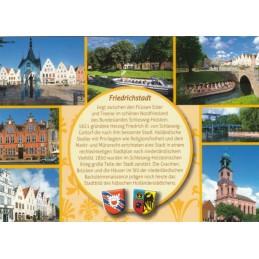 Friedrichstadt - gelbe Chronikkarte