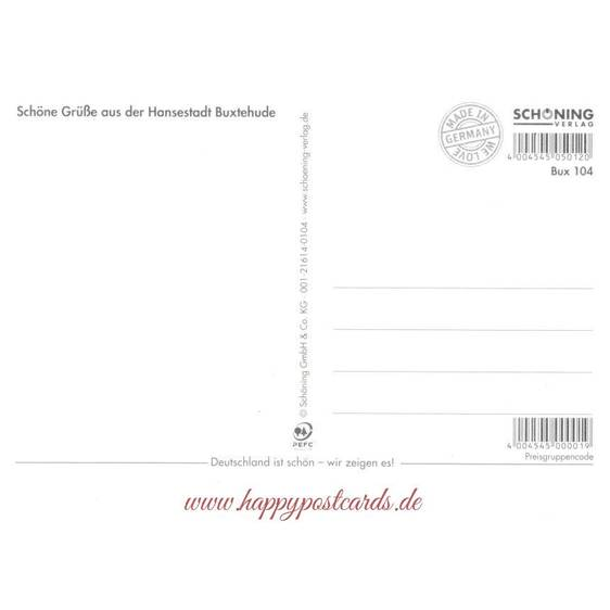 Hansestadt Buxtehude - Chronicle - Viewcard