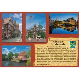Hansestadt Buxtehude - Chronikkarte