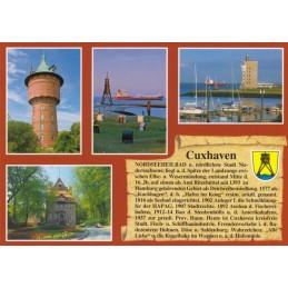 Cuxhaven - Chronikkarte