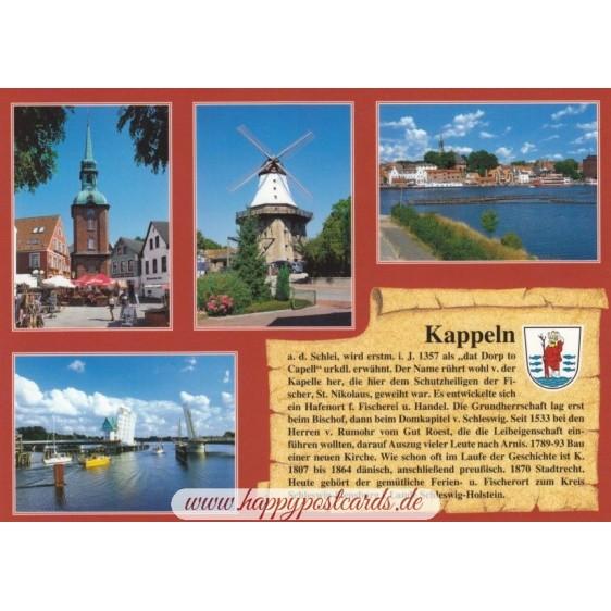 Kappeln - Chronicle - Viewcard