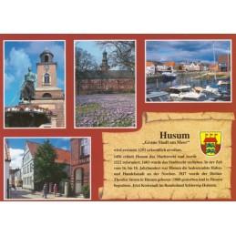 Husum - Chronik - Ansichtskarte