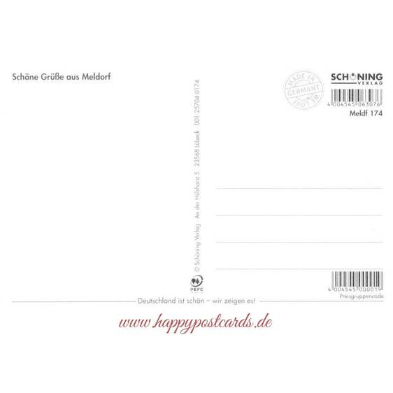 Meldorf - Chronicle - Viewcard