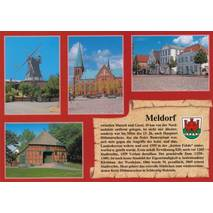 Meldorf - Chronicle - Viewcard