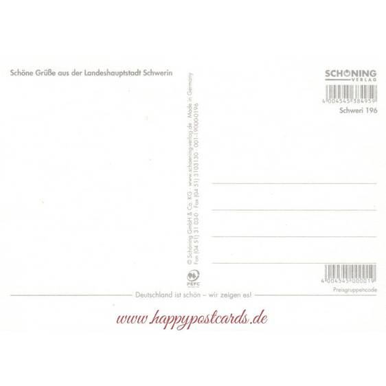 Schwerin - Chronicle - Viewcard