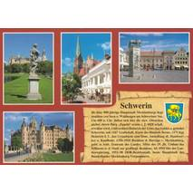 Schwerin - Chronicle - Viewcard