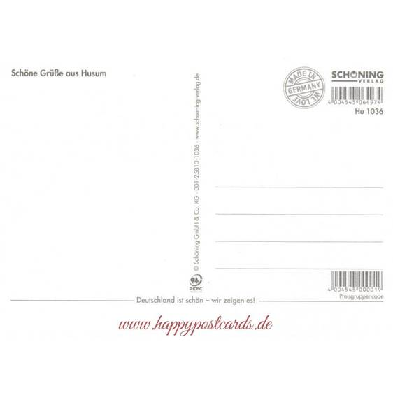 Die Husumer Krokusblüte - Chronik - Ansichtskarte