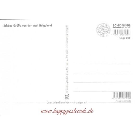 Helgoland - Chronik - Ansichtskarte