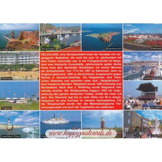 Helgoland - Chronicle - Viewcard
