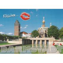 Kiss-Darmstadt - Viewcard