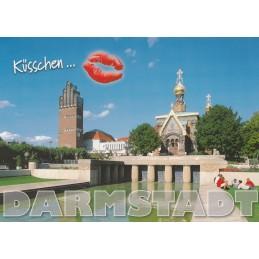 Küsschen-Darmstadt - Ansichtskarte