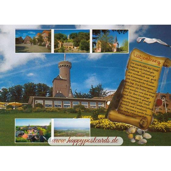 Lütjenburg - Chronicle - Viewcard