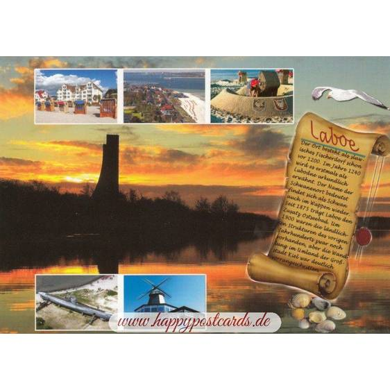 Laboe - Chronik - Ansichtskarte