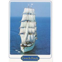 Gorch Fock 2 - Ansichtskarte
