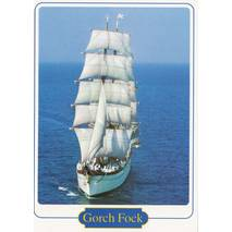 Gorch Fock 2 - Viewcard
