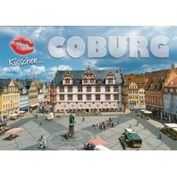 Küsschen-Coburg - Ansichtskarte