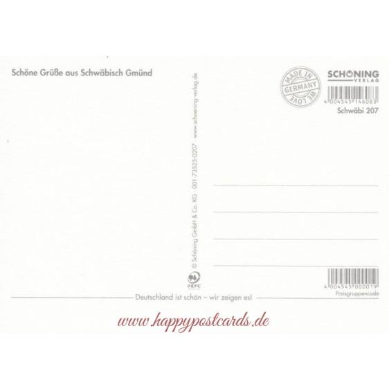 Schwäbisch Gmünd 1 - Ansichtskarte