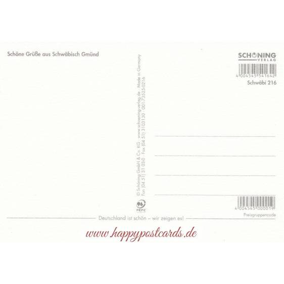 Schwäbisch Gmünd 3 - Ansichtskarte