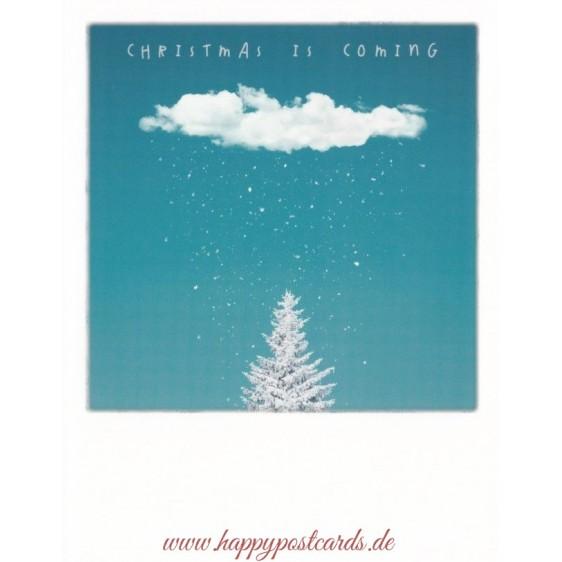 Schneewolke - Weihnachtskarte - PolaCard