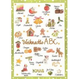 Weihnachts-ABC - Postcard