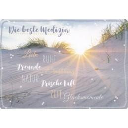 Die beste Medizin - in touch postcard