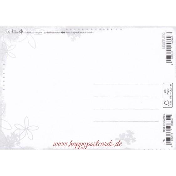 Sei gut zu Dir! - in touch postcard