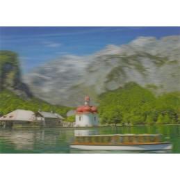 3D Königssee - 3D Postkarte