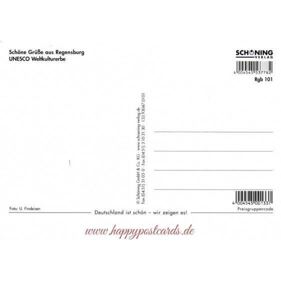 3D Regensburg - 3D Postcard