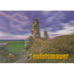 3D Teufelsmauer - 3D Postkarte