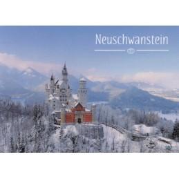 Königsschloss Neuschwanstein 4 - Ansichtskarte