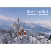 Royal Castle Neuschwanstein 4 - Viewcard