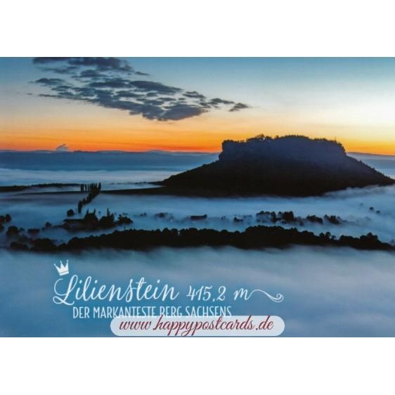 Lilienstein - Postcard