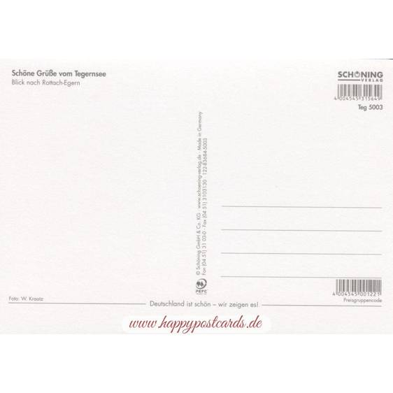 Beautiful Tegernsee - Viewcard