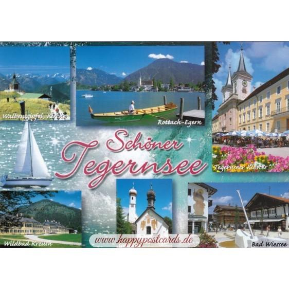 Beautiful Tegernsee 2 - Viewcard