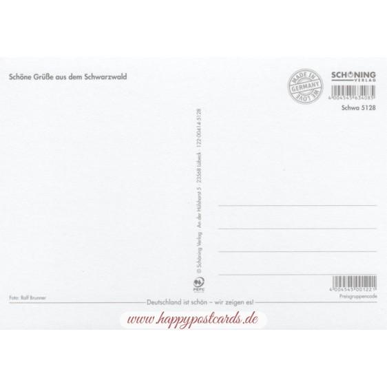Ein gutes Stück Schwarzwald - Ansichtskarte