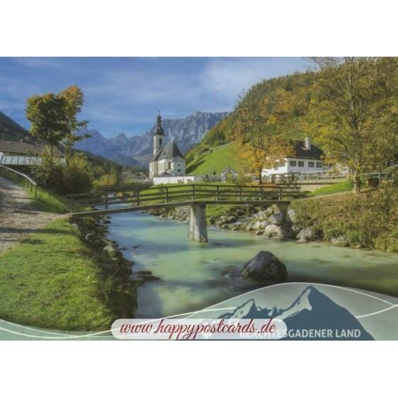 Berchtesgadener Land - Ramsaukicherl - Ansichtskarte