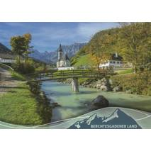 Berchtesgadener Land - Ramsaukircherl - Viewcard