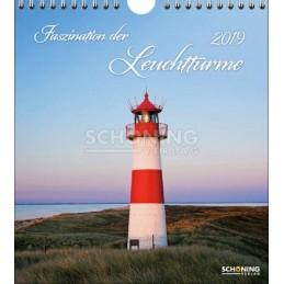 Leuchttürme 2019 - Schöning Top - Kalender
