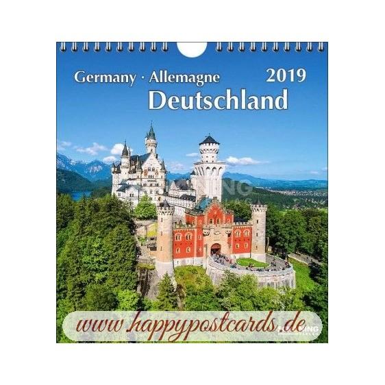 Deutschland 2019 - Schöning Top - Kalender