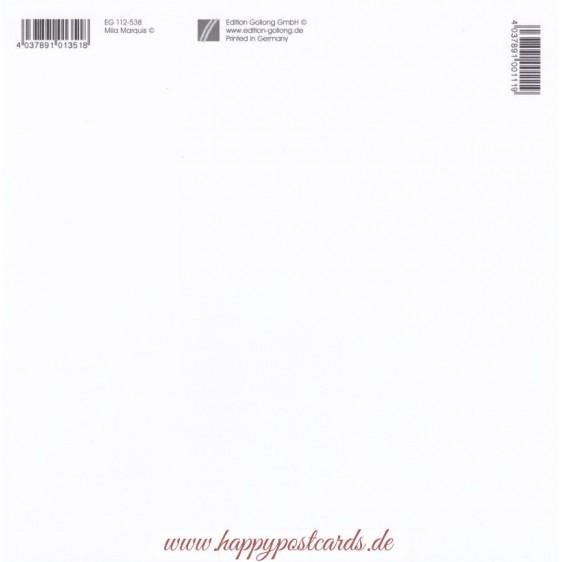 Christmas Animals - Mila Marquis Postcard
