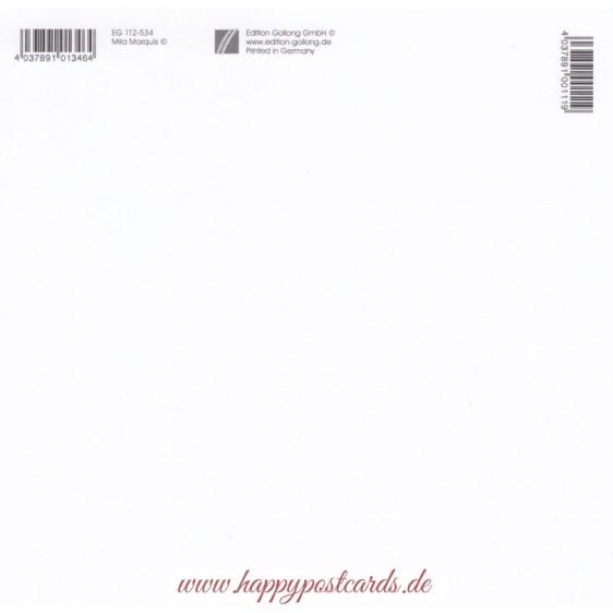 Engel machen Musik - Mila Marquis Postkarte