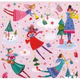 Angels make music - Mila Marquis Postcard