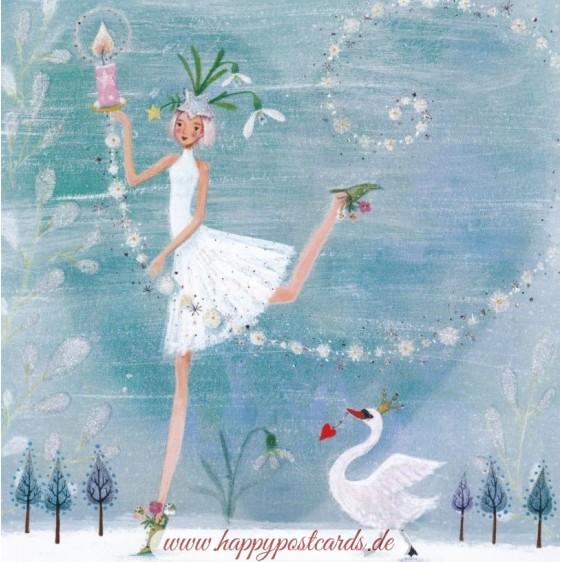 Eisprinzessin - Mila Marquis Postkarte